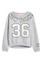 Grey marl/New York
